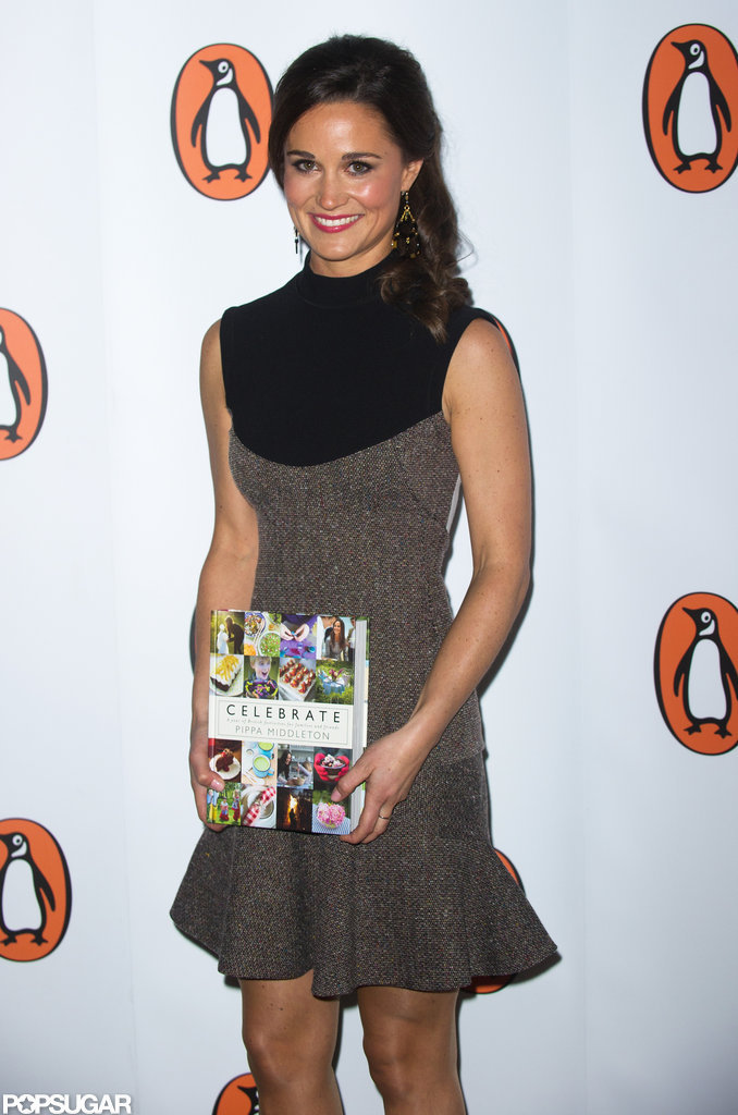 Pippa Middleton posed for photos at the launch party for Celebrate in London.