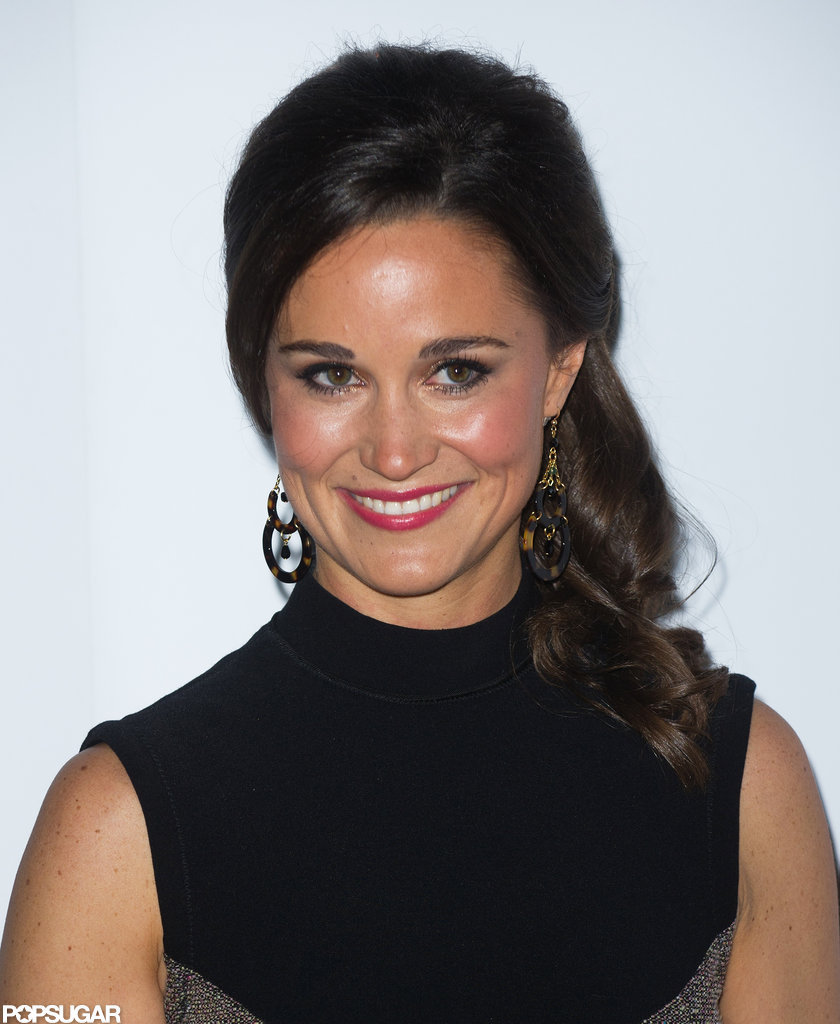 Pippa Middleton posed for photos in London.