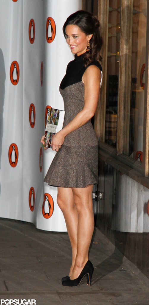 Pippa Middleton attended the launch party for her book in London.