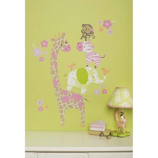 Carter&#039;s Jungle Jill Wall Decals