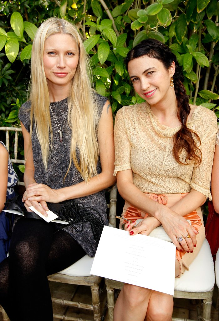 Kirsty Hume and Shiva Rose