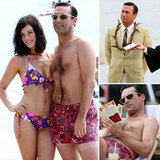 See Jon Hamm and Jessica Paré in Hawaii Filming Mad Men — and a Wedding!