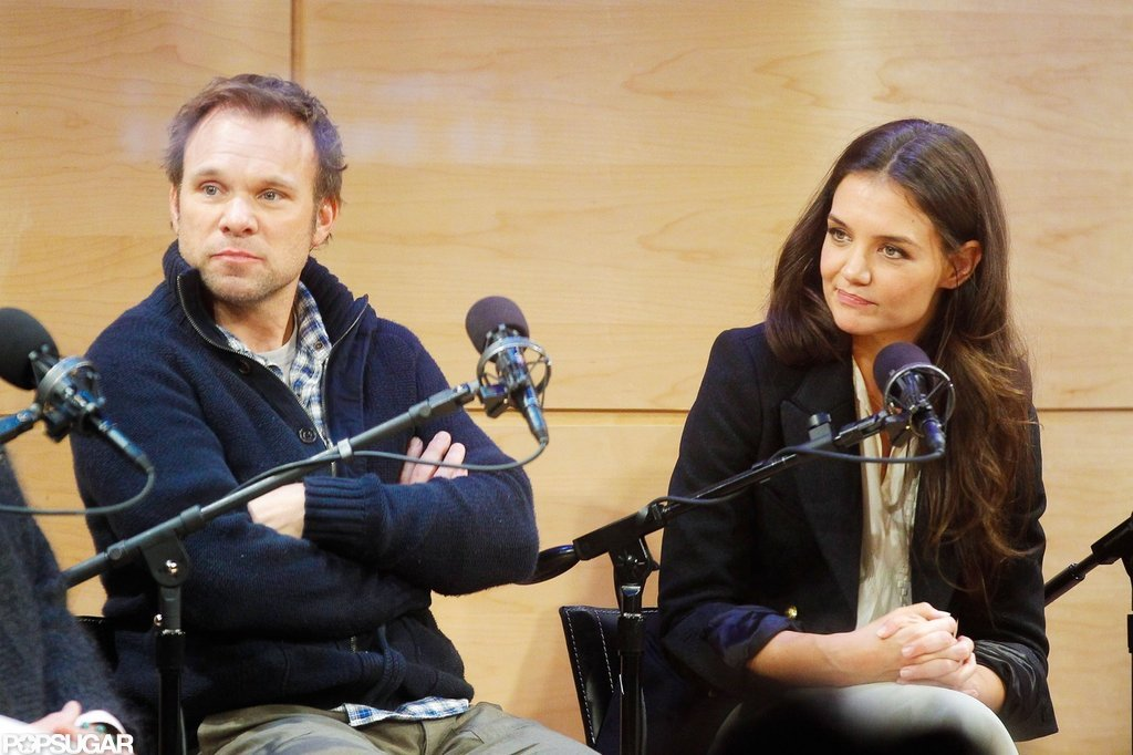 Katie Holmes Takes Questions About Her Broadway Return
