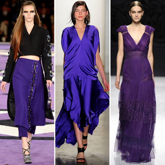 Purple is one of these season's hottest hues. Stay on trend with our favorite pieces for Fall.