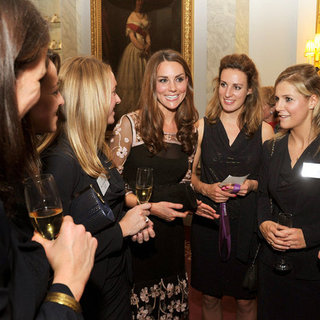 Kate Middleton at Team GB Reception at Buckingham Palace