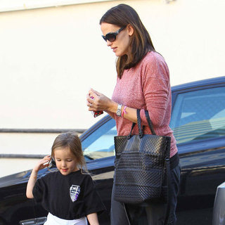 Ben Affleck and Jennifer Garner With Their Girls at Karate