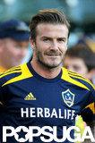 David Beckham played soccer in LA.