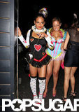 Christina Milian was the Queen of Hearts at an LA party on Sunday.