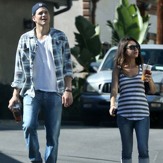 Mila Kunis and Ashton Kutcher's Weekend in LA | Pictures