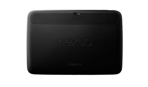 Nexus 10 Rear