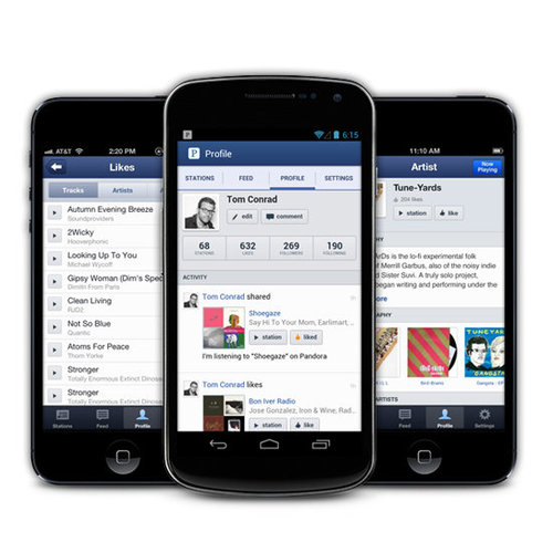 Pandora For iPhone and Android