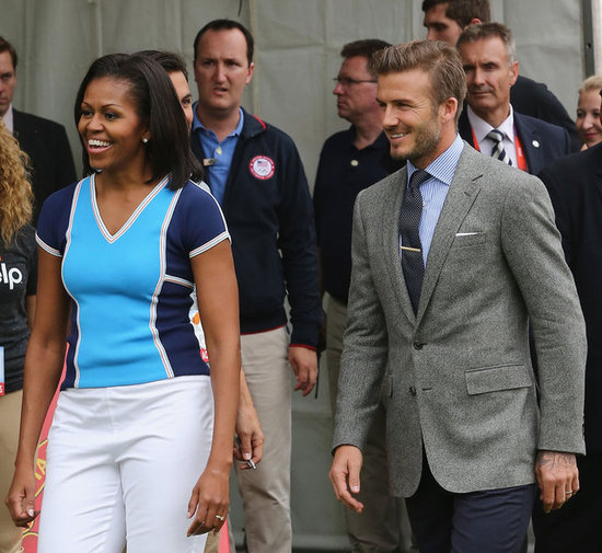 "Michelle Obama ""Definitely"" Committed to Keeping Kids Healthy & Active"