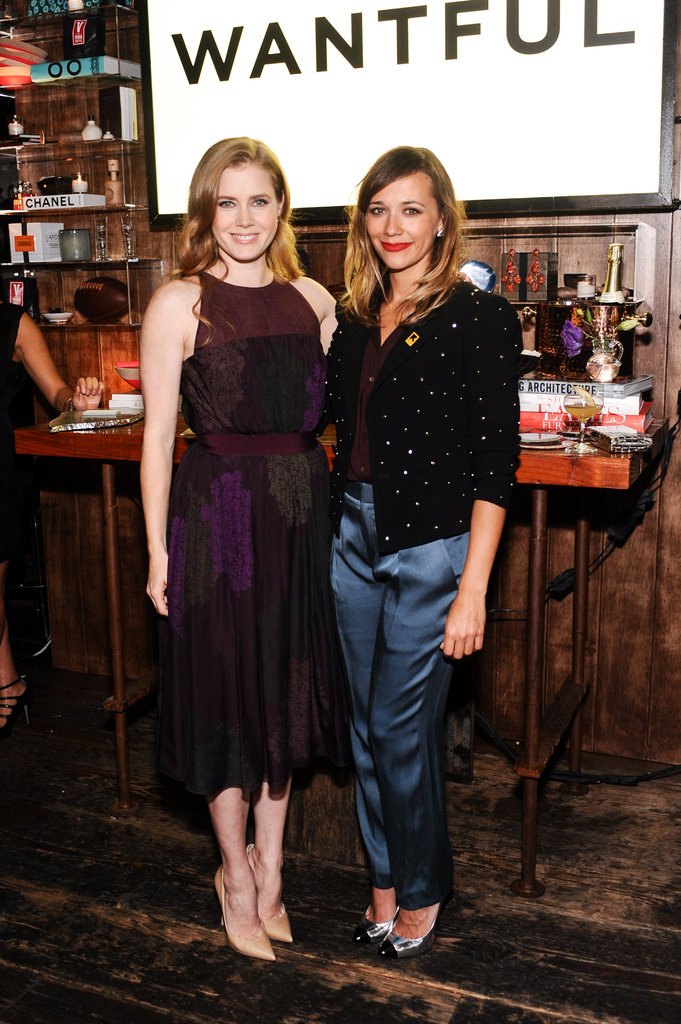 Amy Adams and Rashida Jones posed together at the event.
