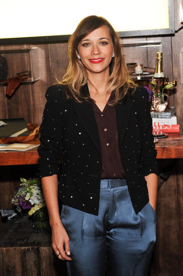 Rashida Jones hosted the Wantful event in LA.