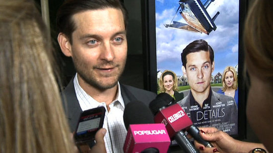 "Video: Tobey Maguire on Costar and ""Best Friend"" Leonardo DiCaprio!"