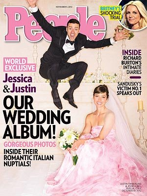 Jessica Biel and Justin Timberlake surprised fans with their secret Italian nuptials in October.