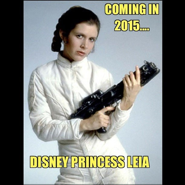 """#StarWars #Episode7 is a-go, and #Disney is taking over #Lucasfilm."" — zap2it Source: Instagram user zap2it"