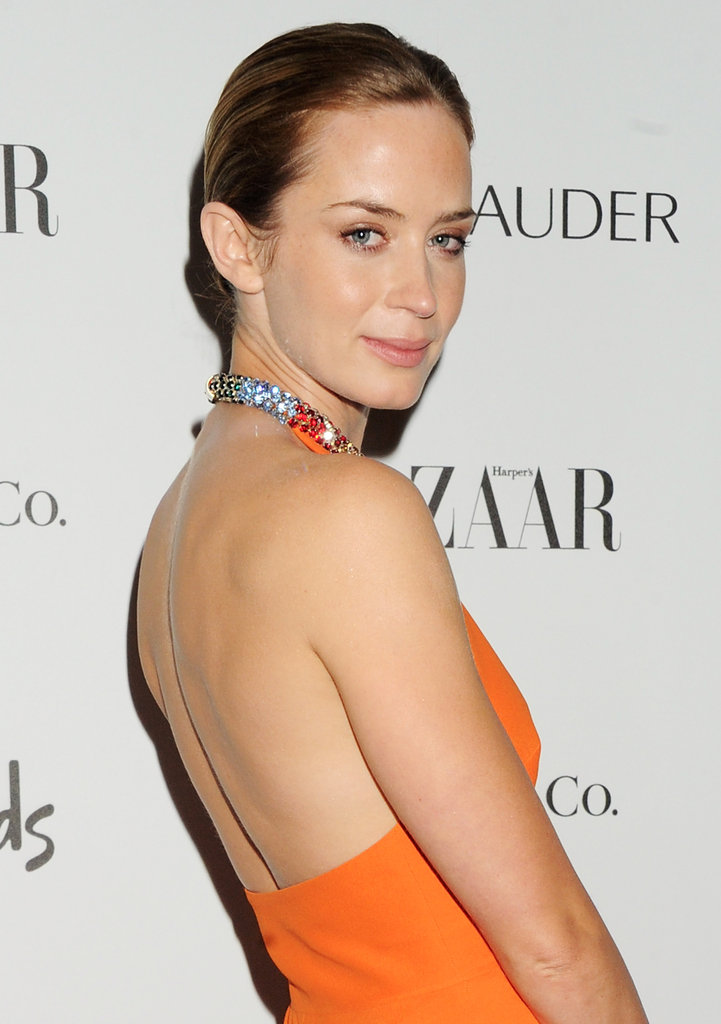 Emily Blunt and Marion Cotillard Go Glam For Harper's Bazaar