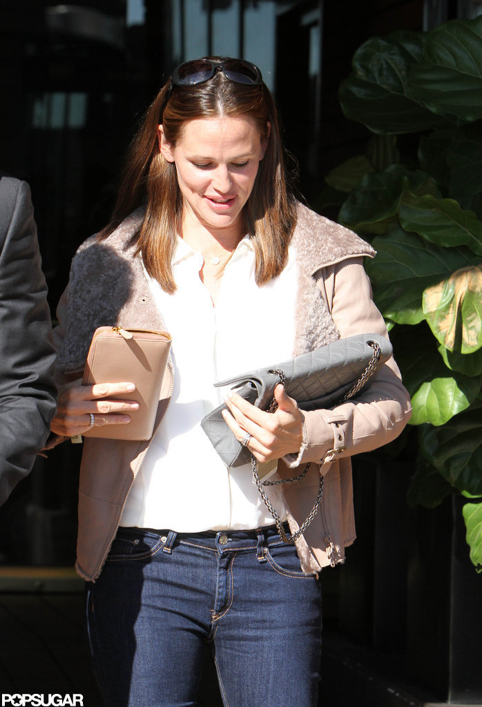 Jennifer Garner spent time out in LA.