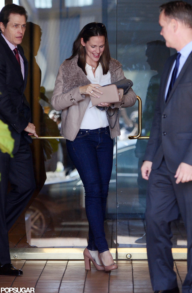 Jennifer Garner was out and about in LA.