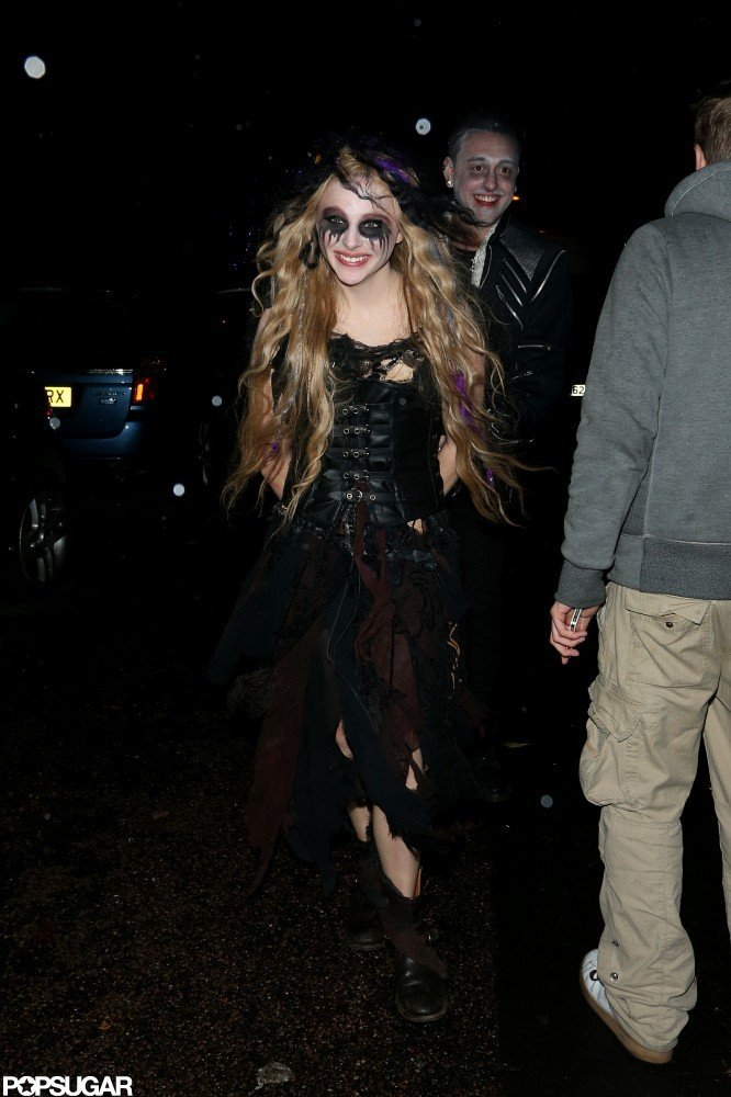 Chloë Moretz was in character for a London bash on Wednesday.
