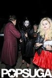 Gwen Stefani, Kate Moss, and Chloë Moretz Party in Costume in London