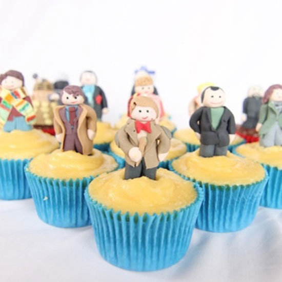 Doctor Who Cupcakes Are Timey Wimey Noms