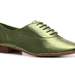 Add some color and shine to your feet via these green metallic Envy Waltz Oxfords ($40).