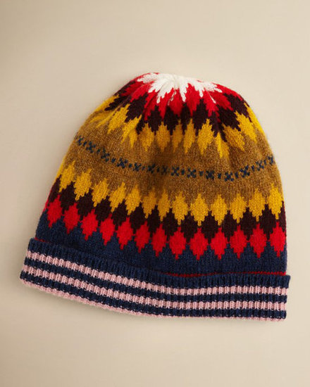 Burberry Giometic Intarsia Hat