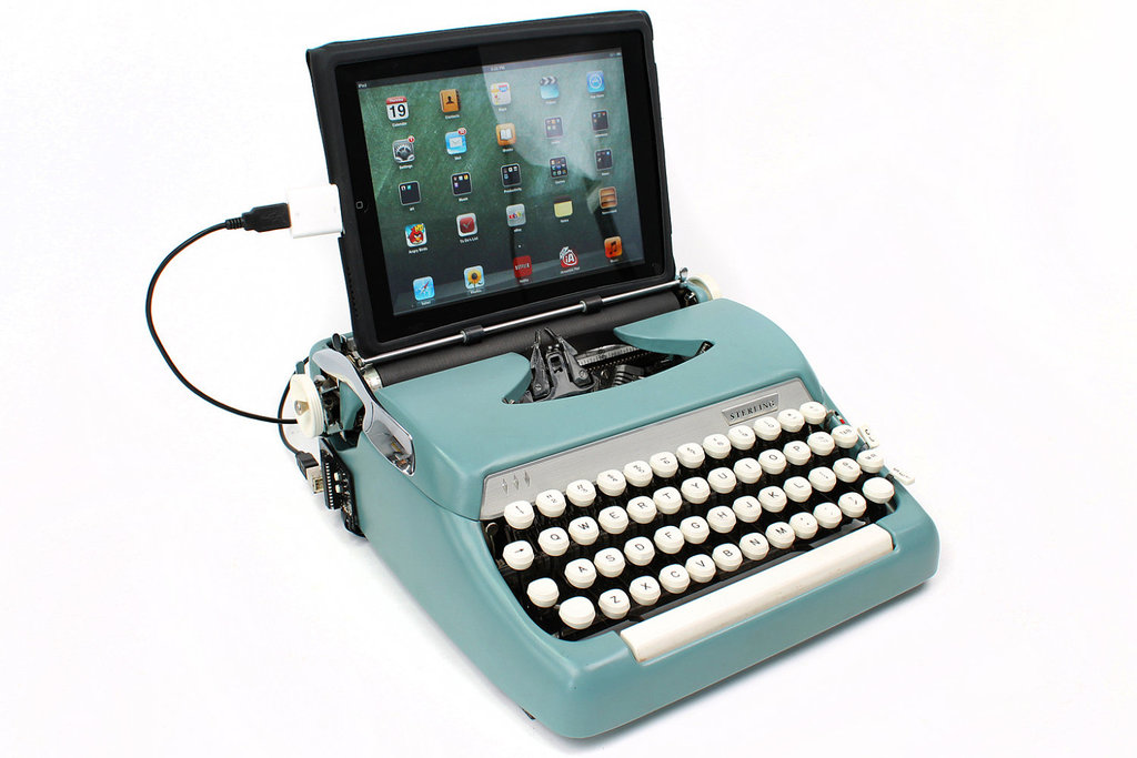 USB Typewriter Computer Keyboard