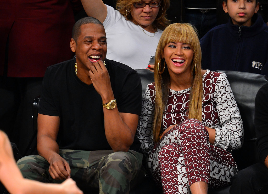Jay-Z and Beyoncé Cheer the Brooklyn Nets on to Their First Ever Win