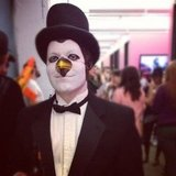 Developer Hayden went all out as Batman villain Penguin.