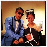 Analytics' Jason went Gangnam style as Psy.