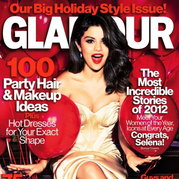 Selena Gomez Glamour Interview: Justin Bieber & Taylor Swift