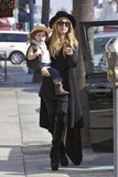 Rachel Zoe strolled Beverly Hills with Skyler Berman.