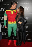 Kourtney Kardashian and Scott Disick went as Batman characters in Miami Wednesday.
