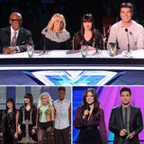 Britney Spears and Her Fellow Judges Go Live on The X Factor