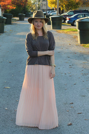 Congrats, Lilyschlosser! Such a cool contrast between your tee and full skirt.