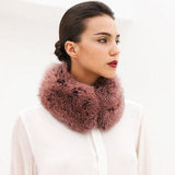 Instead of reaching for a scarf, why not try a fur collar?
