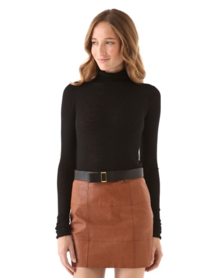 The ultimate Winter basic: this soft and cozy Club Monaco Julie Cashmere Turtleneck Sweater ($199) will be the perfect base layer to all of my cold weather outfits. Believe me, you'd be surprised with all the ways you can utilize a basic black turtleneck. — Chi Diem Chau, associate editor