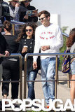 Ashton Kutcher and Mila Kunis spent some time together in Sydney.