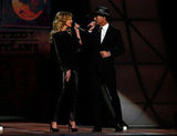 Faith Hill and Tim McGraw appeared on stage at the at the Country Music Association Awards in Nashville.