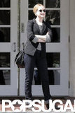Evan Rachel Wood was out in LA after her wedding.