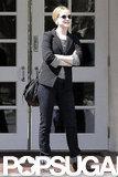 Evan Rachel Wood was out in LA after her wedding.