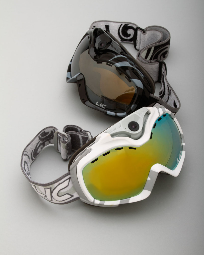 Ski Goggles With Built-In Camera