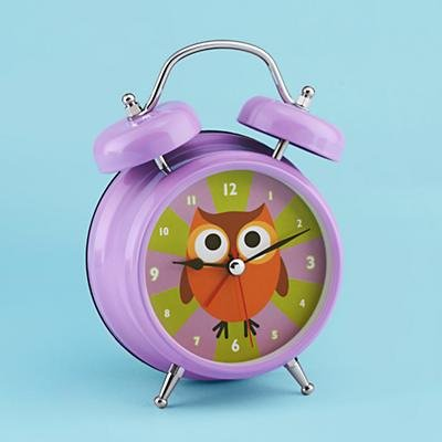 Land of Nod Early Bird Alarm Clock