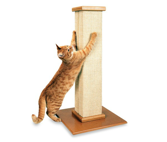 If you prefer an easy, effective scratching post with no fussy bells and whistles, then the SmartCat Ultimate Scratching Post ($50) is for you. It may look simple, but trust us: your cat won't care, as long as he can dig his claws into it.