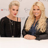Jessica and Ashlee Simpson Attend Macy's Event | Pictures