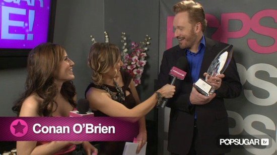 Video: Conan O'Brien On His Transition to Cable TV and His Big People's Choice Awards Win!