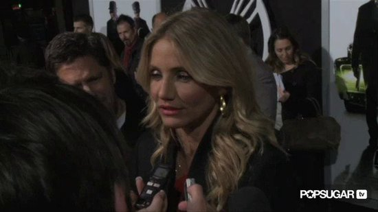 Video: Cameron Diaz Dreams of Fueling Up on Fried Food